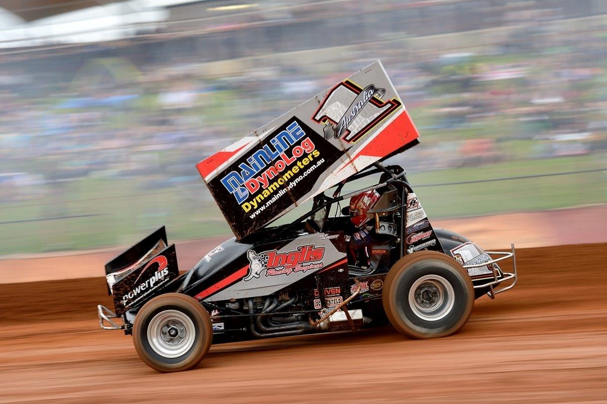 Dave Murcott finished a close second in the A Main