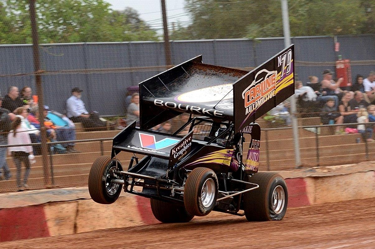 Peter Bourke is celebrating 21 years in speedway - and waht better way to do it !