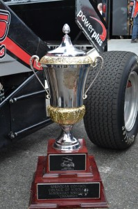 David Murcott's Australian Title trophy - Murcott will be defending his Title the week after The Classic at Premier Speedway