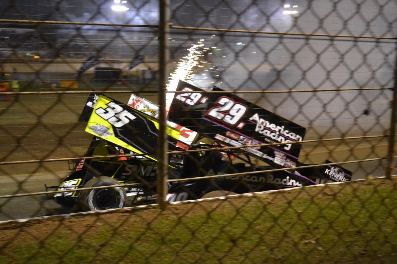 Jamie Veal and Kerry Madsen