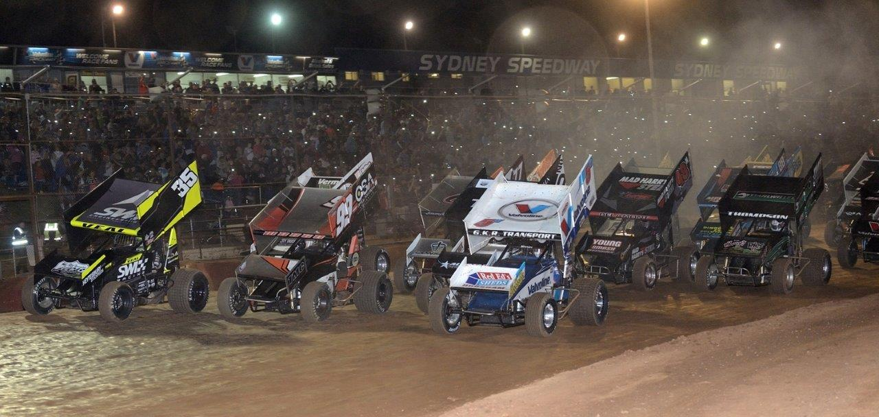 4-wide salute: Jamie Veal (35), Jay Waugh (99), James McFadden (25) and Max Dumesny (5)