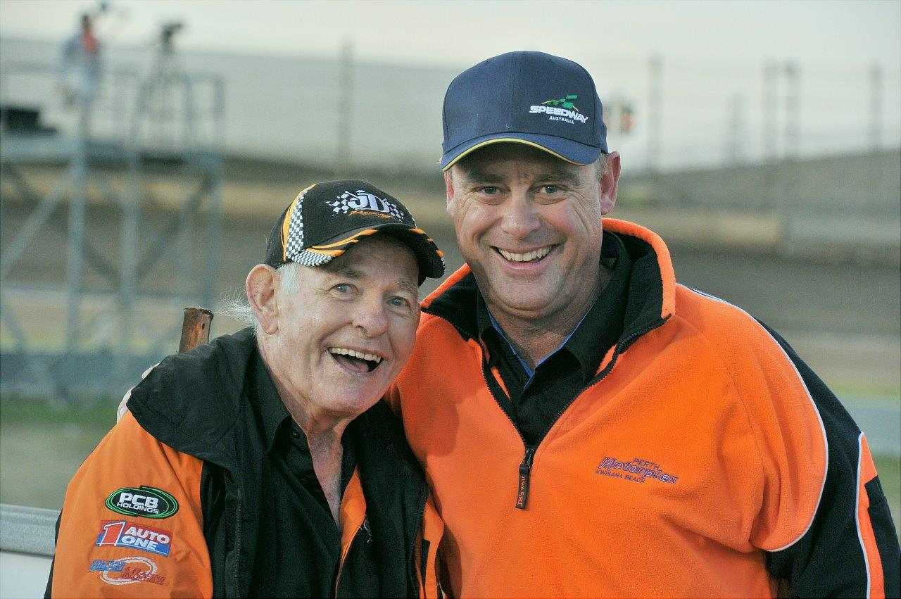 farewell to the general john day torquetube john day and perth motorplex speedway manager gavin migro