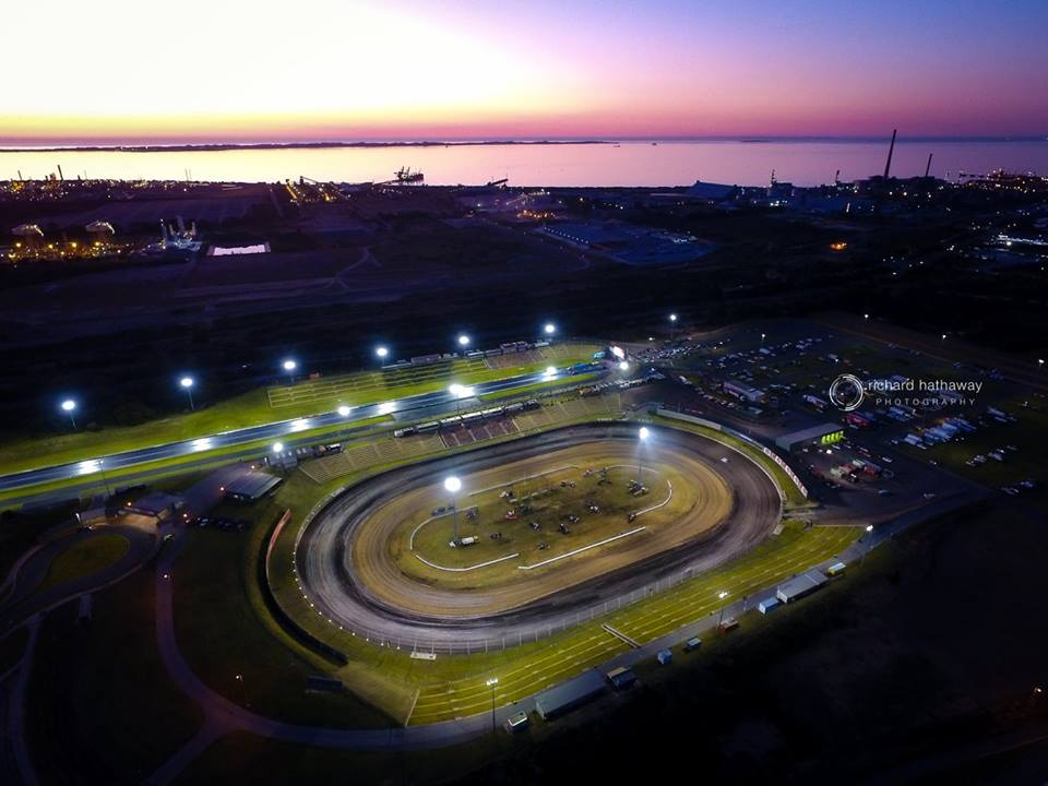 The spectacular Perth Motorplex where Dominic Scelzi will be based