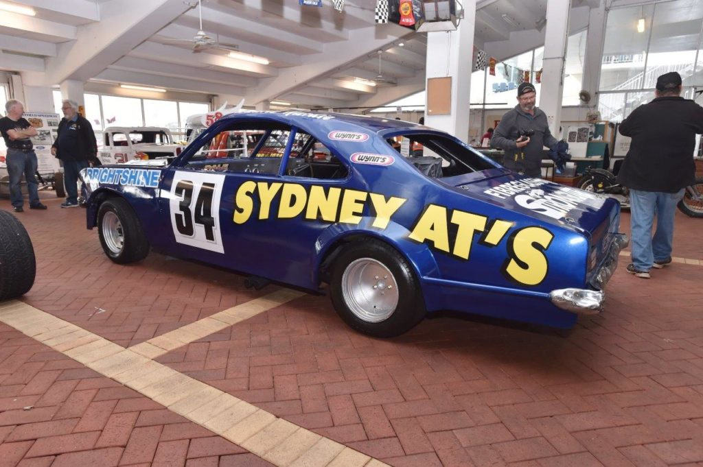 Laurie Hardy's spectacular Monaro