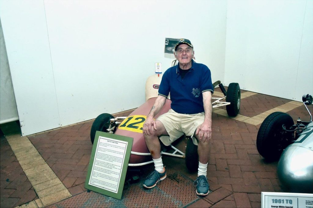 "Veteran TQ/ F500 Racer Bill ""Curly"" Richards"