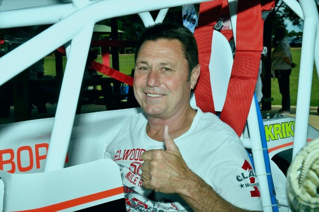 Ron Krikke hops in the driver's seat of the #A1 Kendrick Racing Gambler and relives the dream