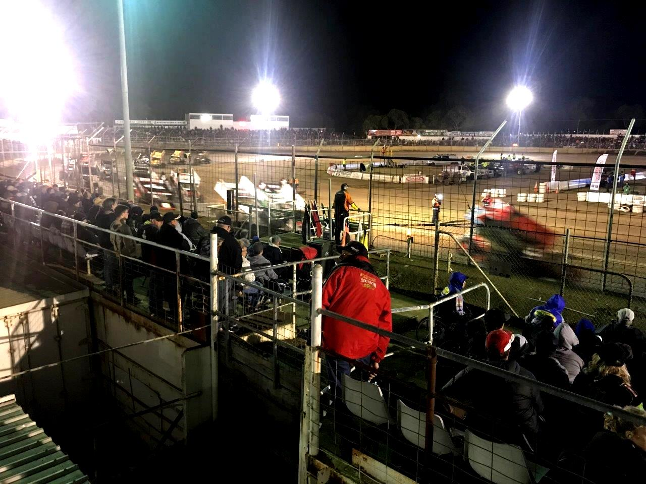 Before the A-Main