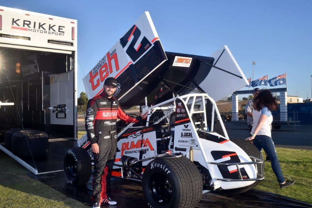 Jamie Veal will drive one of the best prepared cars in the WA Sprintcar Championship