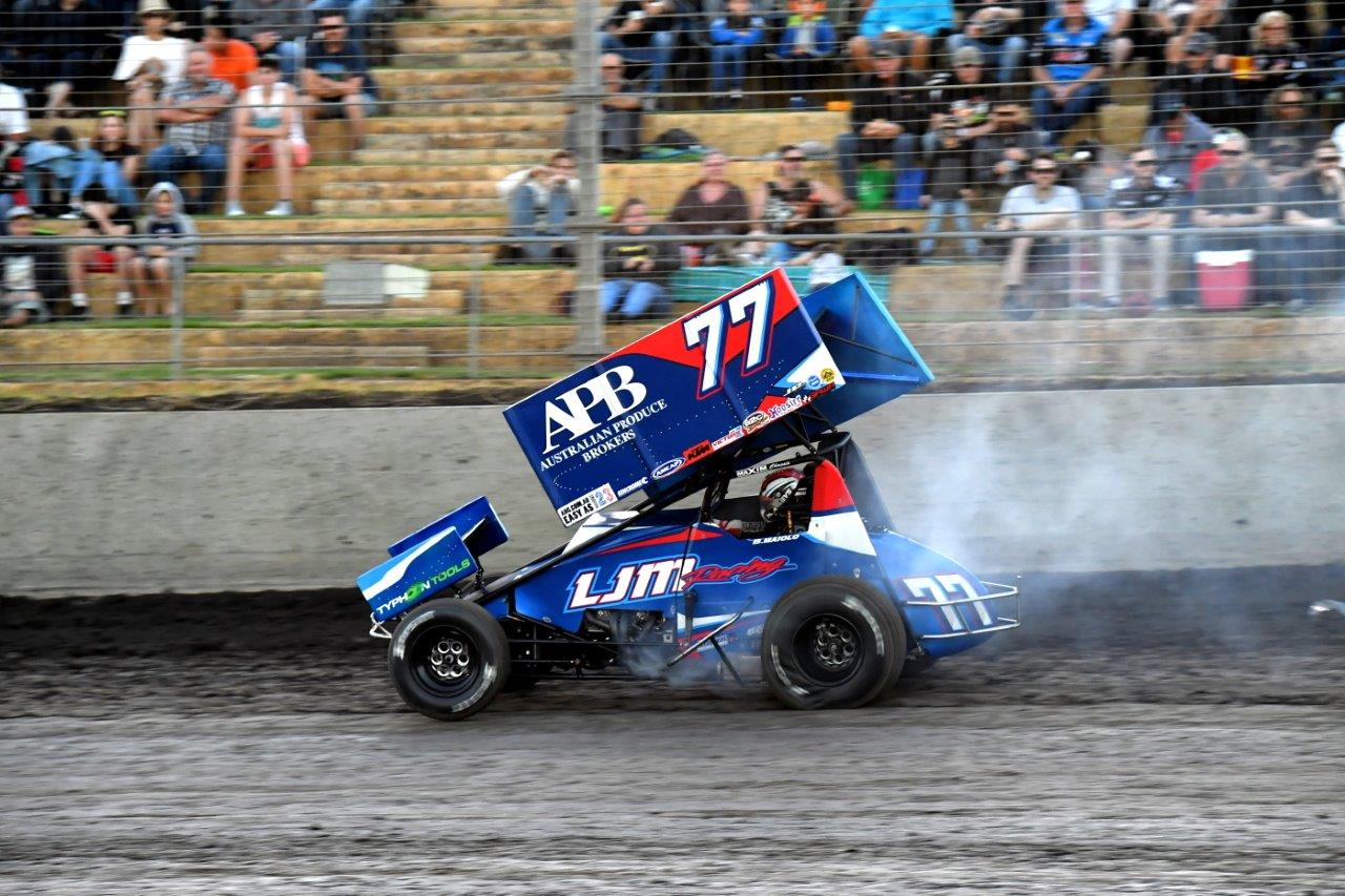 Brad Maiolo came 3rd in the A-Main