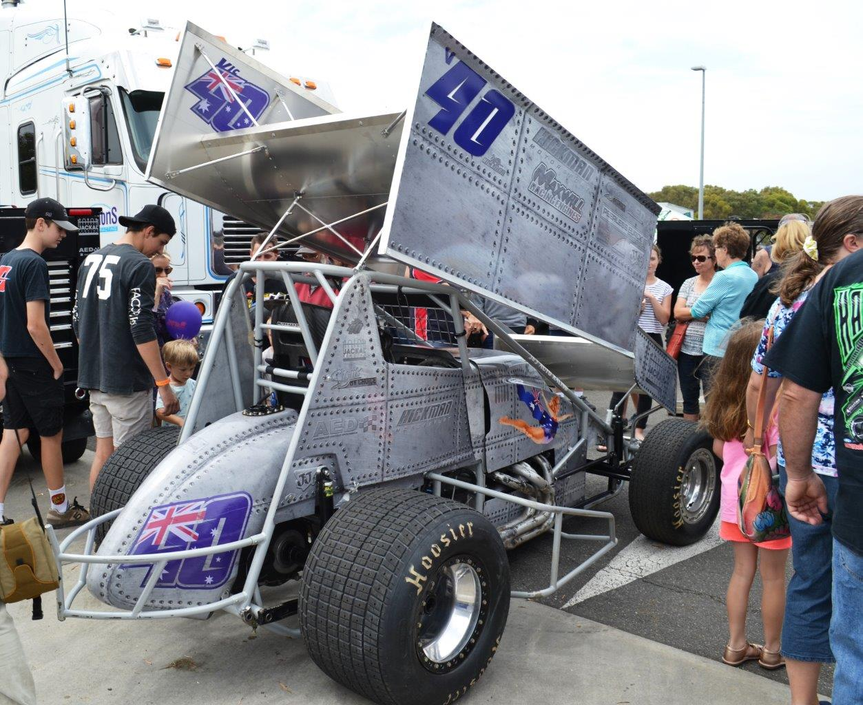 Rusty Hickman and Team took out the Best Presented Car