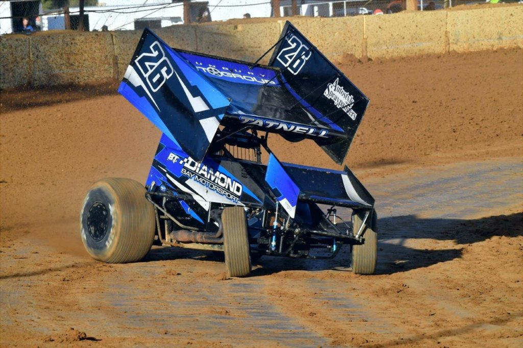 Brooke Tatnell drove the W26